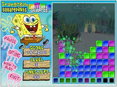 SpongeBob Collapse Game